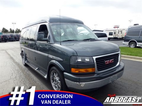 Pre-Owned 2014 GMC Conversion Van Galaxy AWD