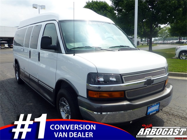 Used Chevrolet Conversion Van Regency 9 Passenger