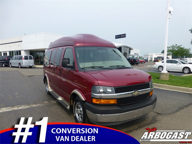 Used Chevrolet Conversion Van Regency 7 Passenger