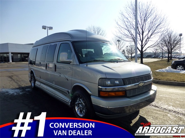 Used Chevrolet Conversion Van Explorer 9 Passenger