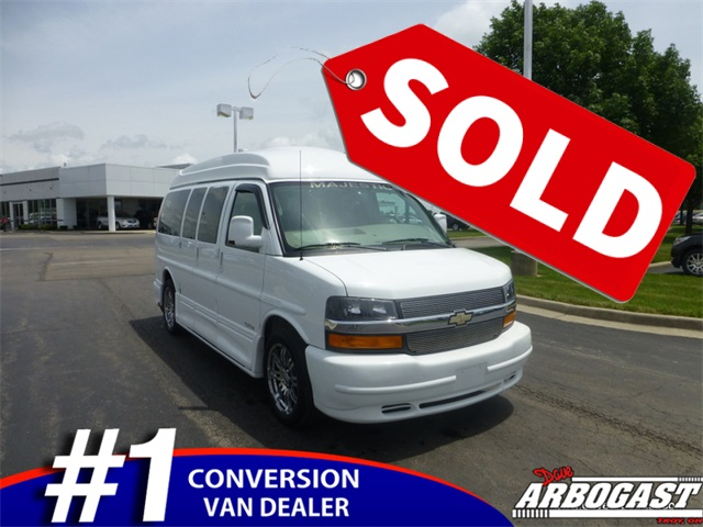 Used Chevrolet Conversion Van Majestic SSX 7 Passenger