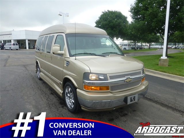 Used Chevrolet Conversion Van Explorer 7 Passenger