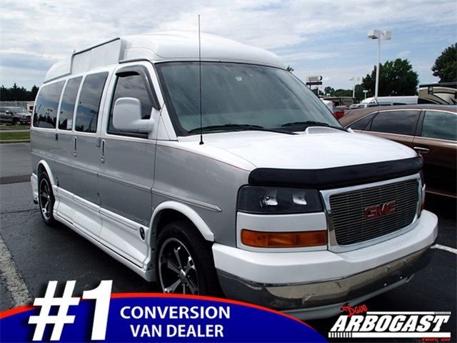 pre owned 2007 gmc conversion van explorer mobility awd. Black Bedroom Furniture Sets. Home Design Ideas