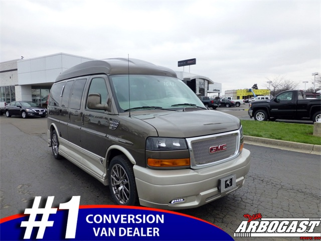 New GMC Conversion Van Explorer 7 Passenger