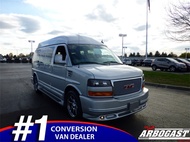 New GMC Conversion Van Southern Comfort 7 Passenger