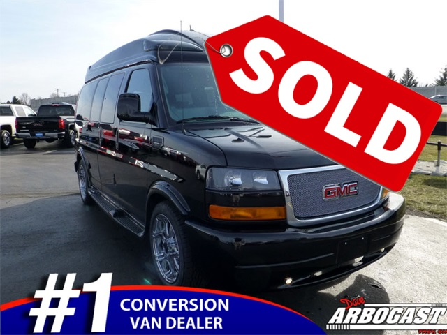 New GMC Conversion Van Sherrod 7 Passenger (SOLD!!!)