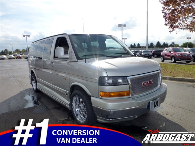 Used GMC Conversion Van Explorer 7 Passenger