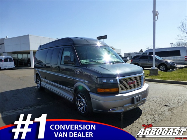 New GMC Conversion Van Explorer 9 Passenger