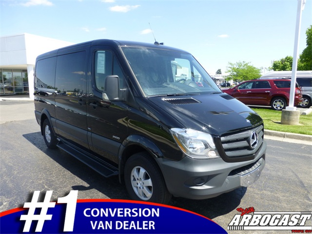 Used Mercedes-Benz Conversion Van American Customs 9 Passenger