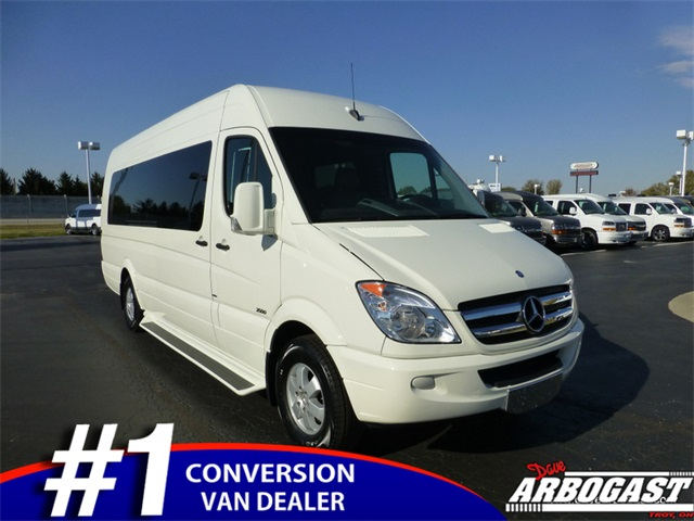 Pre owned 2013 mercedes benz sprinter 2500 custom mobility for Mercedes benz conversion van